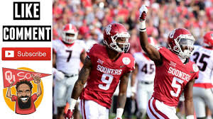 Preview Oklahoma Football Wide Receivers Depth Chart 2018