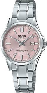 <b>Женские</b> наручные <b>часы Casio LTS</b>-<b>100D</b>-<b>4AVEF</b> кварцевые