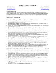 Resume Objectives For Management Positions 9 Example Resume
