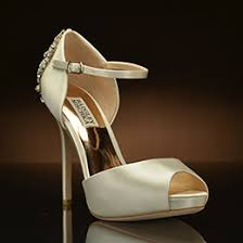glass wedding shoes. dawn by badgley mischka glass wedding shoes h