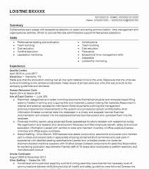 Qc Resume Samples Eye Grabbing Quality Control Resumes Samples Livecareer