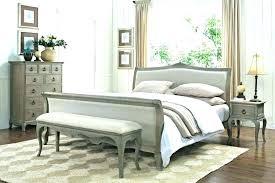Distressed Bedroom Furniture Rustic Painted White Vintage Look ...
