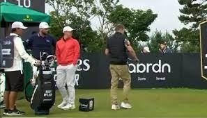 Scottish Open Spectator Steals Golf ...