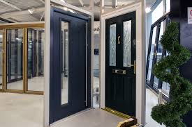 modern glass entry doors. Modern And Traditional Entrance Doors On Display In Our Heswall, Cheshire Showroom. Glass Entry