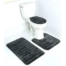 white and black bath rug 5 piece bathroom rug sets stripe bath rug set in gray white and black bath rug
