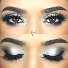 fashion silver glitter eye makeup charming a collection of 40 best tutorials and ideas for