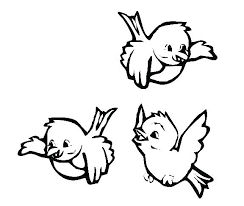 cute bird drawing flying. Exellent Cute Birds Coloring Pages Colouring Of Flying Cute Bird  To Cute Bird Drawing Flying F