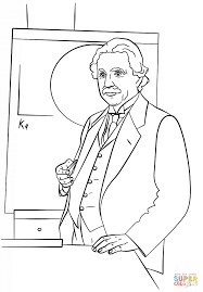 Small Picture Albert Einstein coloring page Free Printable Coloring Pages