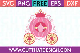 How to convert a svg file. Free Svg Files Princess Carriage Design Cut That Design
