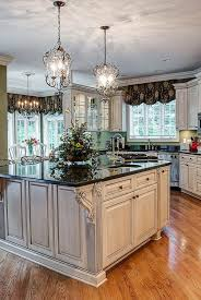 french country kitchen lighting design and isnpiration in