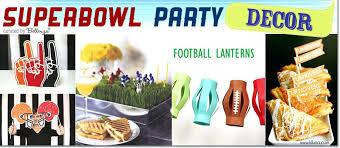 Homemade Super Bowl Decorations Superbowl Decorations Cupcake Toppers Cheap Super Bowl Decoration 53