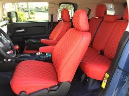 clazzio leather based seat covers 2016 fj cruiser