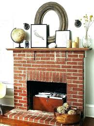 brick fireplace decor brick fireplace mantel decor red brick fireplace mantel ideas best brick fireplace decor