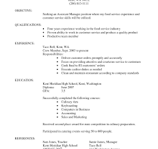 Cover Letter For Cook Resume Culinary Resume Examples Cooking Cover Letter Arts Instructor 34