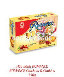Bánh hộp giấy Romance - Quà Tết Hải Hà