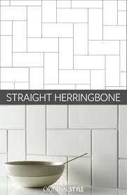 How To Layout Herringbone Pattern New Decorating
