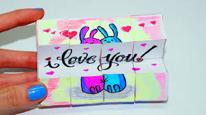 diy valentine s day gifts ideas magic cube transformer easy paper crafts tutorial julia diy you