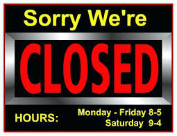 labor day closing sign template new office closed sign template and temporarily closed sign template