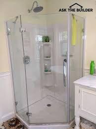 glamorous glass shower walls glass shower wall panels are glass block shower wall home depot
