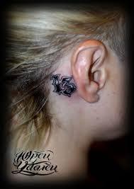 миниатюрная татуировка цифра 13 леттеринг Tattooed Tattoodesign