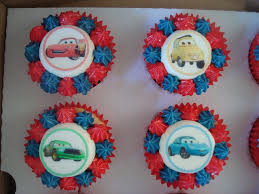 11 Cars Cupcakes Pinterest Photo Disney Cars Fondant Cupcake