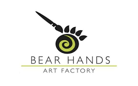 bear hands art factory holds gift making works and winter art cs