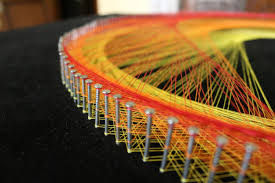 String Art The Vortex String Art By Mahmoud Al Qammari Youtube