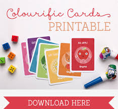 Printable Playing Card Free Printable Color Learning Cards Tinyme Blog