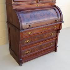 cylinder roll top secretary desk home furniture decoration