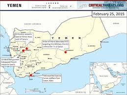 yemen crisis situation report critical threats rescinded his resignation and appears to be establishing an alternative government in aden the al houthis continue to control yemen s central
