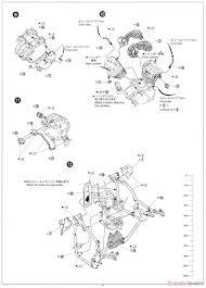 Honda steed 400vse w custom parts model car assembly guide8