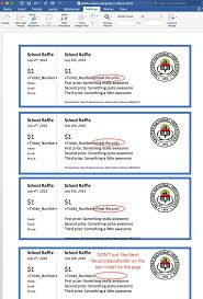 17 best ideas about raffle tickets printable raffle create printable raffle tickets in word