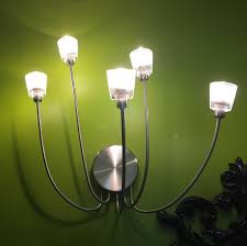 if you have a few track lighting fixtures or ikea light fixtures that use small halogen bulbs there are finally decent to good led replacements that use