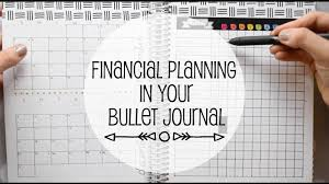 Financial Tracking Financial Tracking In Your Bullet Journal Www Sunshinestickerco Com