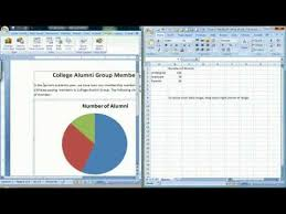 How To Add Text To Pie Chart In Word How To Create A Pie Chart In Microsoft Word 2007