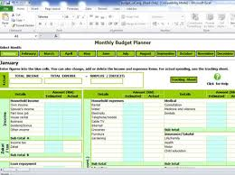 budget planning excel download monthly budget planning calculator excel spreadsheet