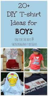 20 diy t shirt ideas for boys
