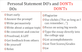Helpful Advice on Writing a Biomedical Science Personal Statement