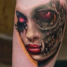 как живыеили уже неттрэш и реализм в татуировке