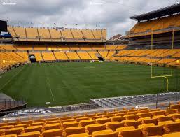 Pittsburgh Heinz Field Seating Chart Heinz Field Section 145 Seat Views Seatgeek