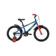 <b>Велосипед Stark</b>'19 <b>Foxy 18</b> синий/зелёный/красный H000013946