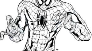 Disegno Di Spiderman Da Colorare Per Bambini Con Spiderman Moto Da