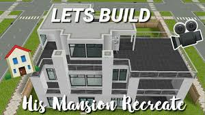 👨LETS BUILD: His Mansion Recreate🏡 - Stacie Sims Freeplay - YouTube