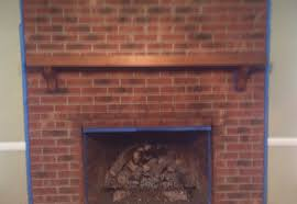 enamour painted brick fireplace mantels house wallpaper goodbye house o home blog decor coaxing paint that