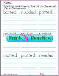 Free printable phonics flashcards,handouts, posters, worksheets, phonics games and other printables to support your phonics lessons and current phonics worksheets: 44 Phonics Worksheets Practice Phonics Words Copywork