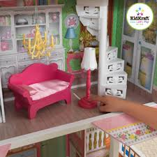 wooden barbie doll house furniture. KidKraft Sweet Savannah Wooden Dollhouse With 13 Pieces Of Furniture - Walmart.com Barbie Doll House