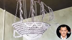 johnny depp leaves behind pirate ship chandelier after ing l a condo hollywood reporter