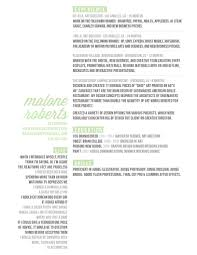 malone resume contact