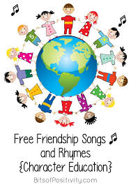 free friendship songs and rhymes