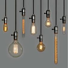 edison pendant lighting. Pendant Lights, Glamorous Edison Bulb Pendants Bare Light Fixture Decorative Lighting S